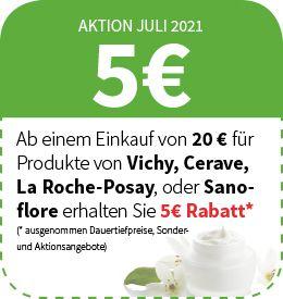 Roche-posay, Vichy, Cerave, Sanoflore